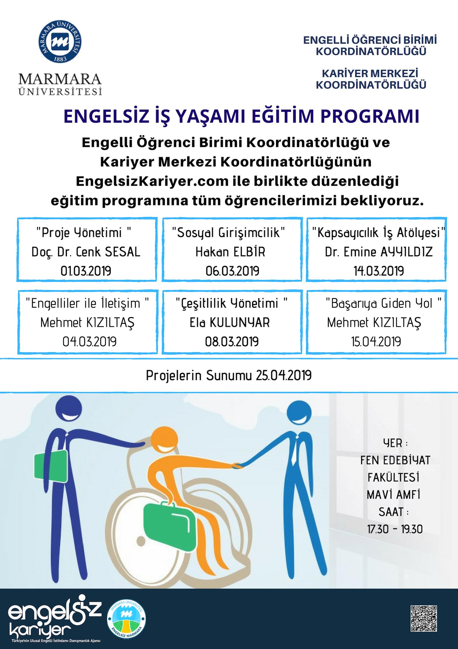 Engelsiz İş Yaşamı Eğitim Programı